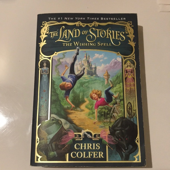 The Land of Stories The Wishing Spell-Chris Colfer